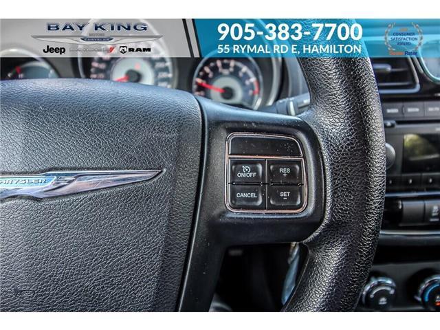 2014 Chrysler 200 LX (Stk: 6846RC) in Hamilton - Image 9 of 19