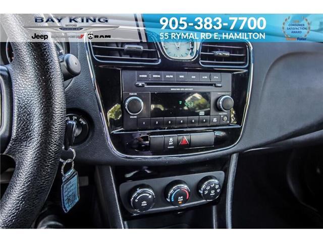 2014 Chrysler 200 LX (Stk: 6846RC) in Hamilton - Image 10 of 19