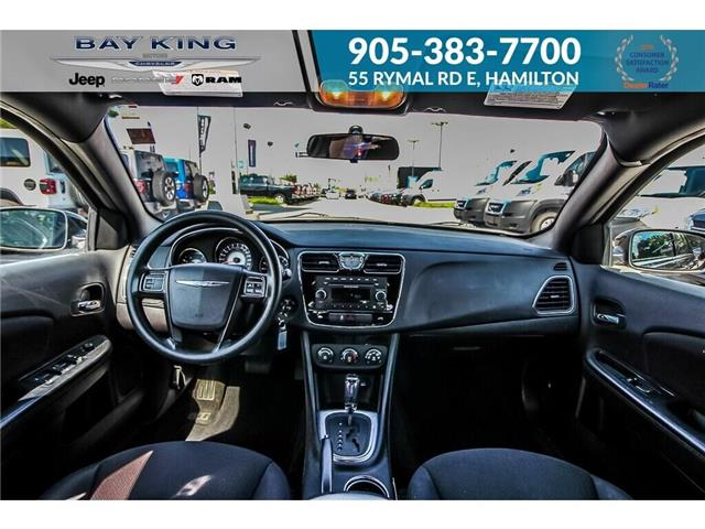2014 Chrysler 200 LX (Stk: 6846RC) in Hamilton - Image 12 of 19