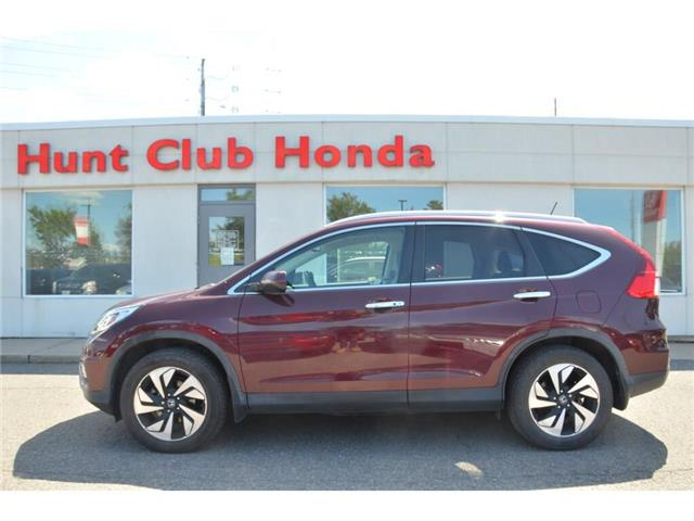 2016 Honda CR-V Touring (Stk: Z00837A) in Gloucester - Image 1 of 27