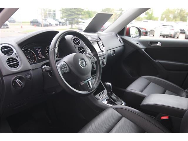 2013 Volkswagen Tiguan 2.0 TSI Comfortline (Stk: 190337A) in Calgary - Image 12 of 14