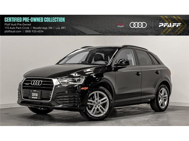 2018 Audi Q3 2.0T Komfort (Stk: C7017) in Woodbridge - Image 1 of 22