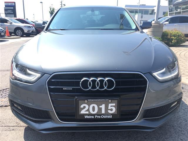2015 Audi A4 2.0T Komfort (Stk: 1771W) in Oakville - Image 2 of 25