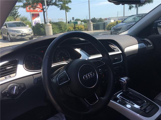 2015 Audi A4 2.0T Komfort (Stk: 1771W) in Oakville - Image 12 of 25