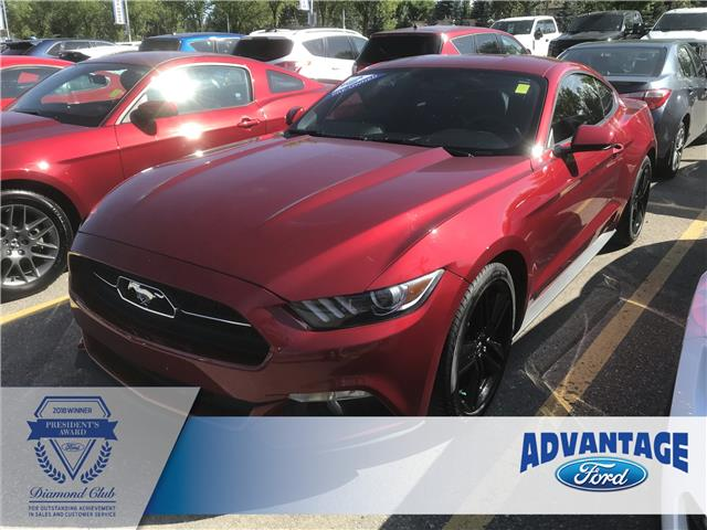 2015 Ford Mustang EcoBoost Premium (Stk: K-1991A) in Calgary - Image 1 of 22