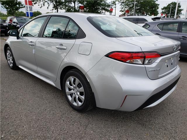 2020 Toyota Corolla LE (Stk: 20-186) in Etobicoke - Image 3 of 4