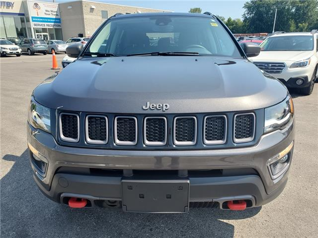 2018 Jeep Compass Trailhawk (Stk: 19S1091A) in Whitby - Image 8 of 27