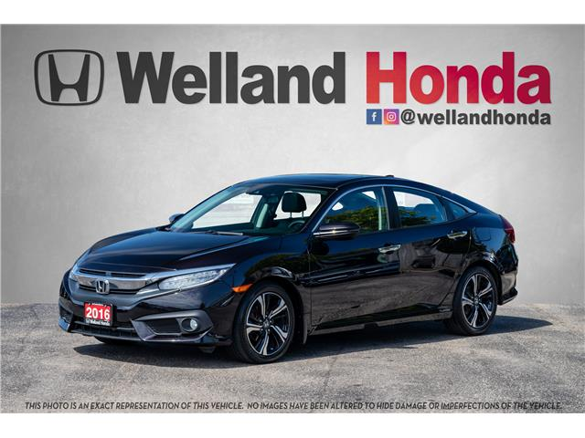 2016 Honda Civic Touring (Stk: U6708) in Welland - Image 1 of 22