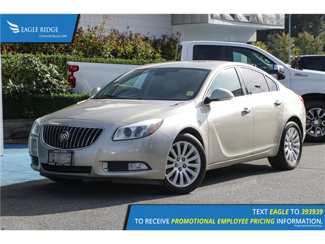 2013 Buick Regal Turbo (Stk: 130047) in Coquitlam - Image 1 of 14