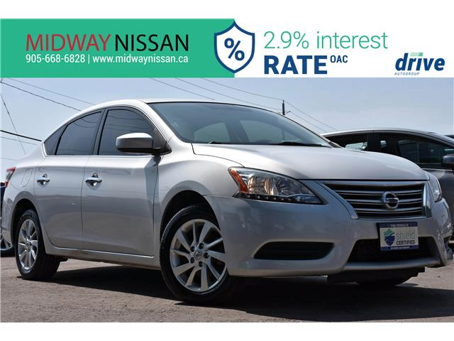 2015 Nissan Sentra 1.8 SV (Stk: U1827) in Whitby - Image 1 of 31