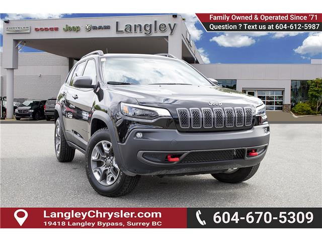 2019 Jeep Cherokee 27E Trailhawk (Stk: EE910540) in Surrey - Image 1 of 25