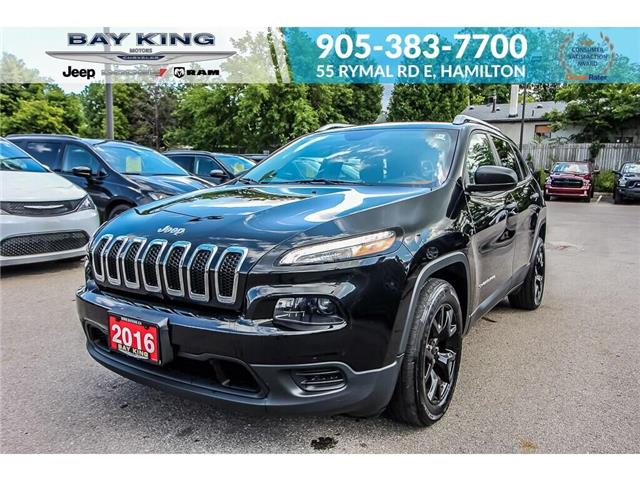 2016 Jeep Cherokee Sport (Stk: 193523A) in Hamilton - Image 1 of 24
