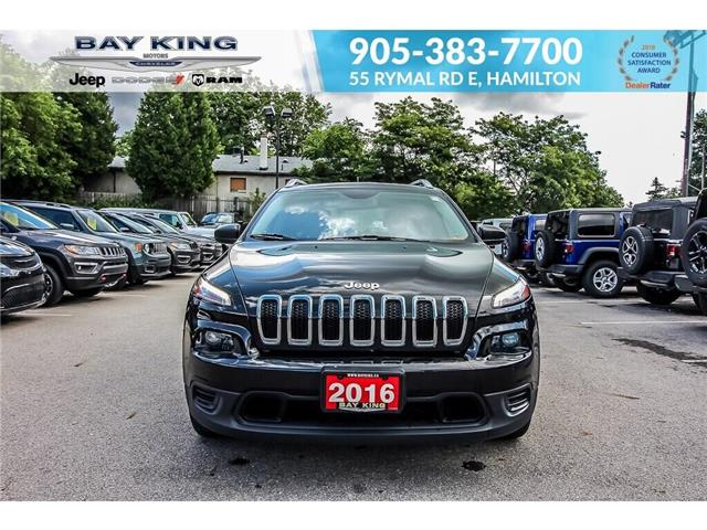 2016 Jeep Cherokee Sport (Stk: 193523A) in Hamilton - Image 2 of 24