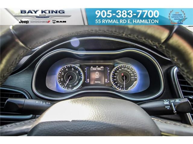 2015 Chrysler 200 Limited (Stk: 197644A) in Hamilton - Image 8 of 21