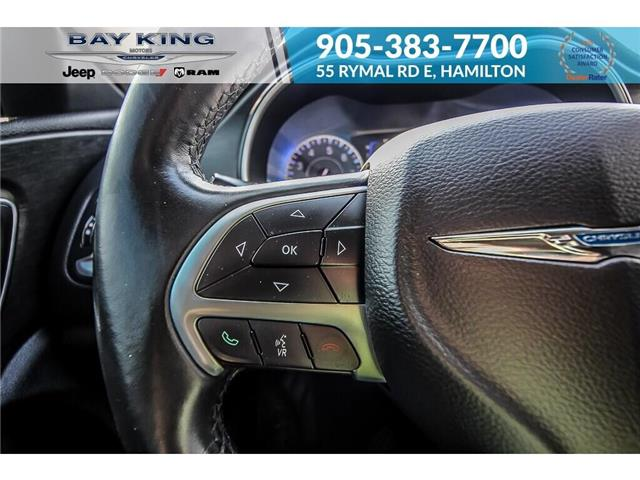 2015 Chrysler 200 Limited (Stk: 197644A) in Hamilton - Image 9 of 21