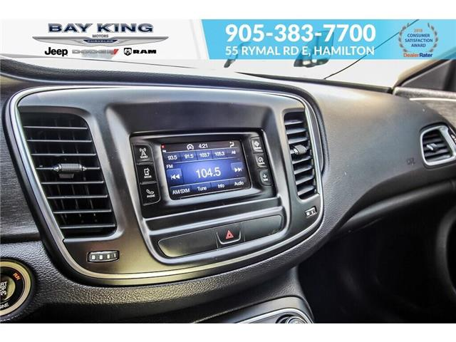 2015 Chrysler 200 Limited (Stk: 197644A) in Hamilton - Image 11 of 21