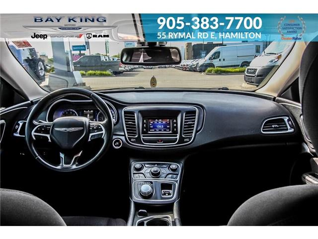 2015 Chrysler 200 Limited (Stk: 197644A) in Hamilton - Image 16 of 21