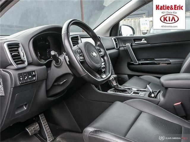 2018 Kia Sportage SX Turbo (Stk: K3099) in Mississauga - Image 14 of 28