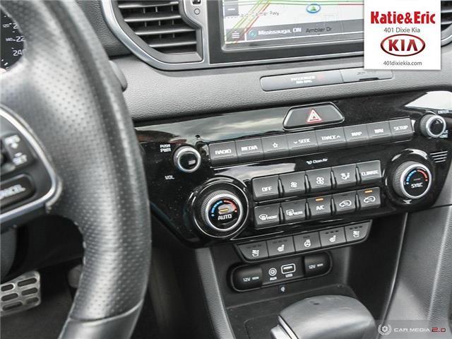 2018 Kia Sportage SX Turbo (Stk: K3099) in Mississauga - Image 21 of 28