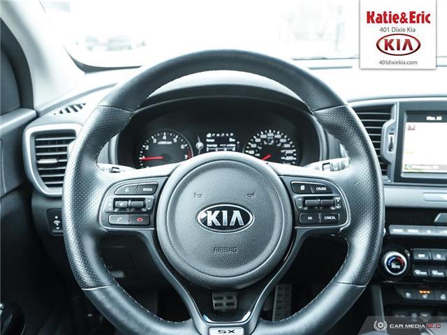 2018 Kia Sportage SX Turbo (Stk: ST18029) in Mississauga - Image 15 of 28