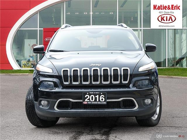 2016 Jeep Cherokee Limited (Stk: K2957) in Mississauga - Image 3 of 28