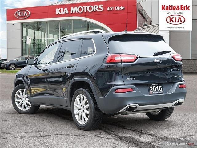 2016 Jeep Cherokee Limited (Stk: K2957) in Mississauga - Image 5 of 28