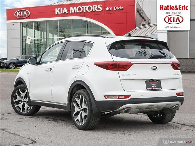 2018 Kia Sportage SX Turbo (Stk: ST18081) in Mississauga - Image 5 of 28