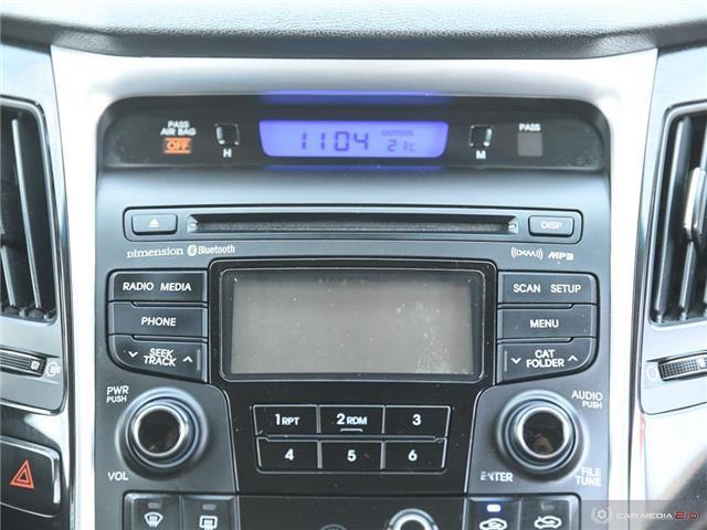 2012 Hyundai Sonata Limited (Stk: A2961) in Saskatoon - Image 20 of 27