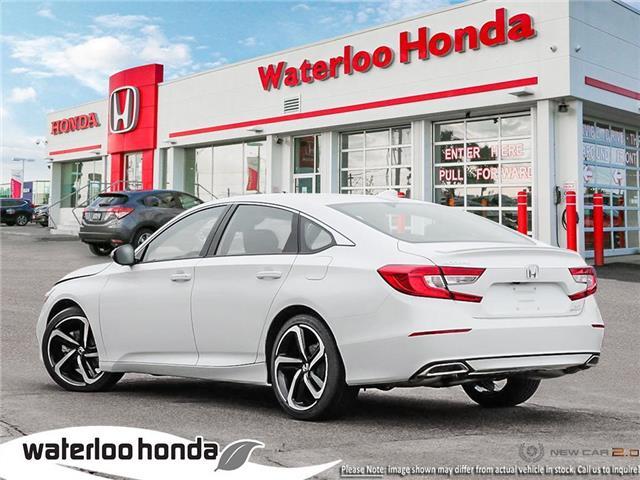 2019 Honda Accord Sport 2.0T (Stk: H4755) in Waterloo - Image 4 of 23