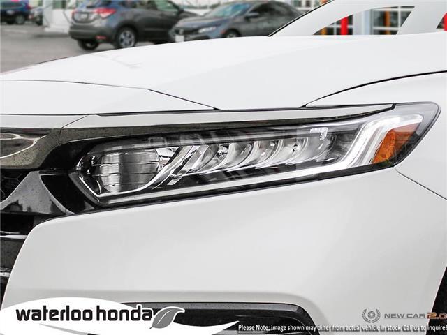 2019 Honda Accord Sport 2.0T (Stk: H4755) in Waterloo - Image 10 of 23