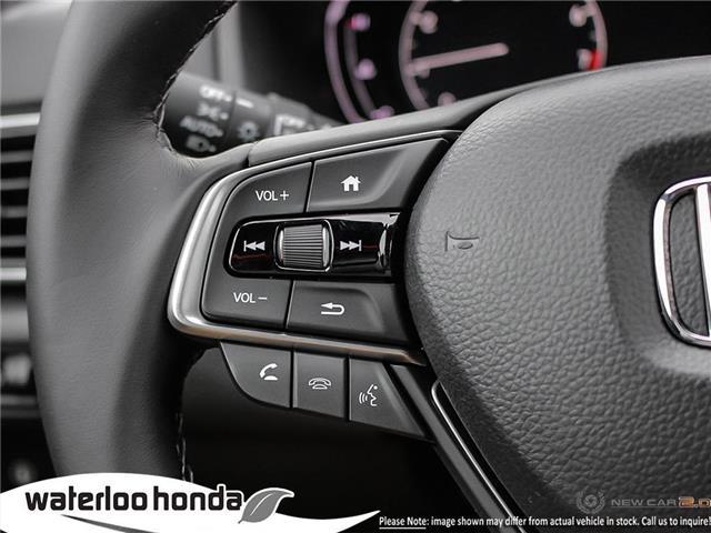 2019 Honda Accord Sport 2.0T (Stk: H4755) in Waterloo - Image 15 of 23
