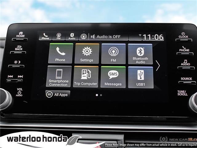 2019 Honda Accord Sport 2.0T (Stk: H4755) in Waterloo - Image 18 of 23