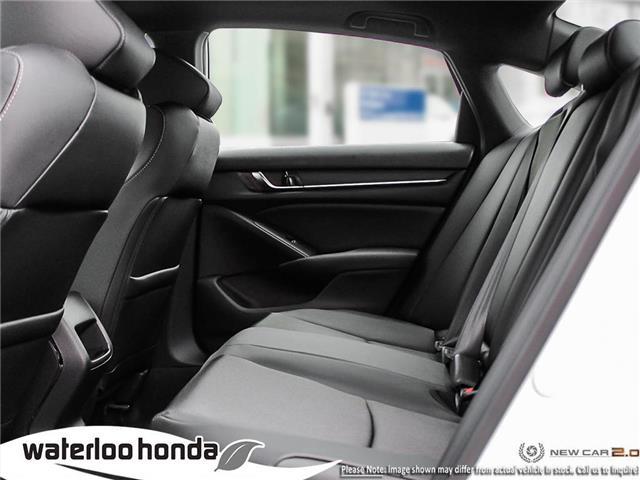 2019 Honda Accord Sport 2.0T (Stk: H4755) in Waterloo - Image 21 of 23