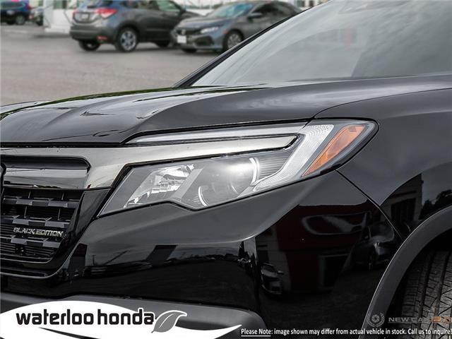 2019 Honda Ridgeline Black Edition (Stk: H4663) in Waterloo - Image 10 of 22