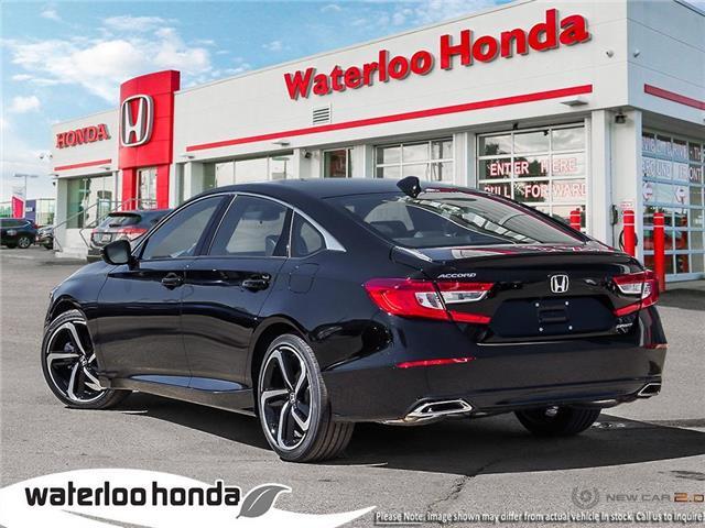2019 Honda Accord Sport 1.5T (Stk: H5014) in Waterloo - Image 4 of 23