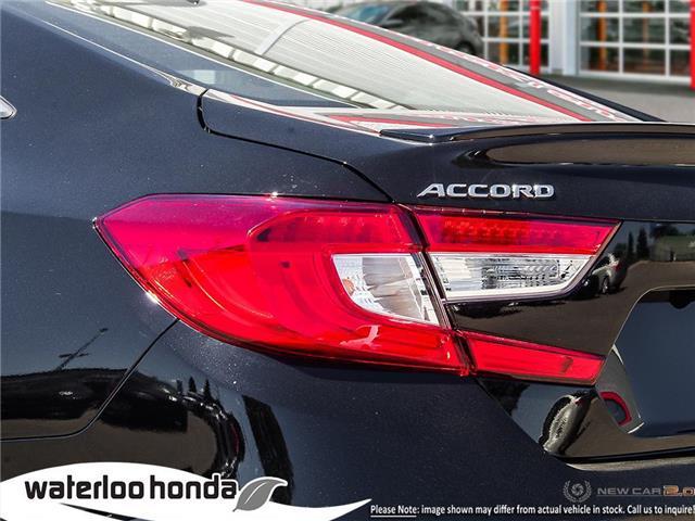 2019 Honda Accord Sport 1.5T (Stk: H5014) in Waterloo - Image 11 of 23