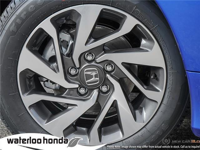 2019 Honda Civic EX (Stk: H5171) in Waterloo - Image 8 of 23