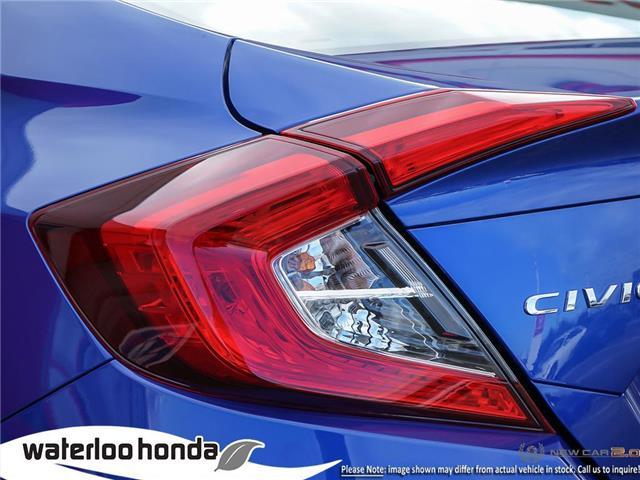 2019 Honda Civic EX (Stk: H5171) in Waterloo - Image 11 of 23