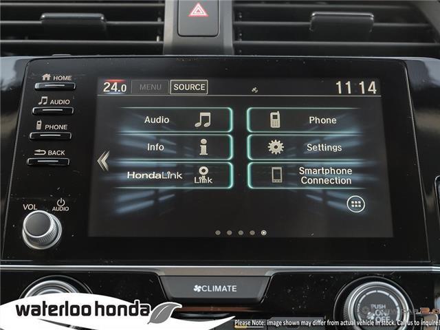2019 Honda Civic LX (Stk: H5215) in Waterloo - Image 18 of 23