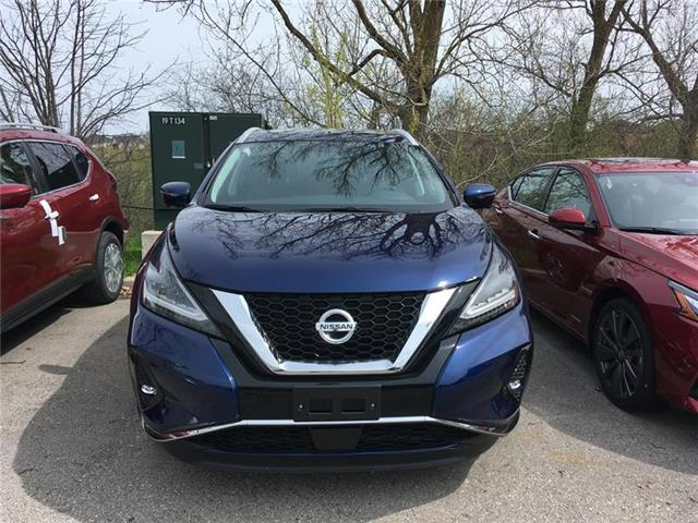 2019 Nissan Murano SL (Stk: RY19M066) in Richmond Hill - Image 1 of 5