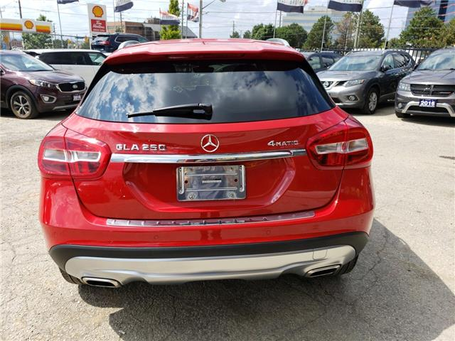 2016 Mercedes-Benz GLA-Class Base (Stk: 223127) in Toronto - Image 4 of 16