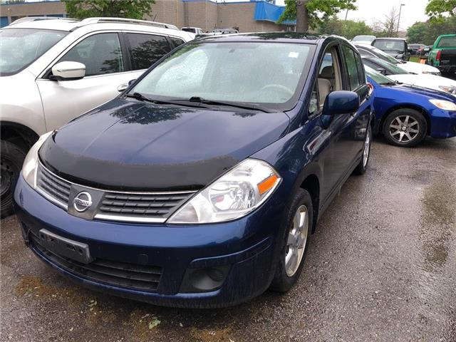 2008 Nissan Versa 1.8 S MANUAL - AS IS ONLY  (Stk: P0616B) in Mississauga - Image 1 of 11
