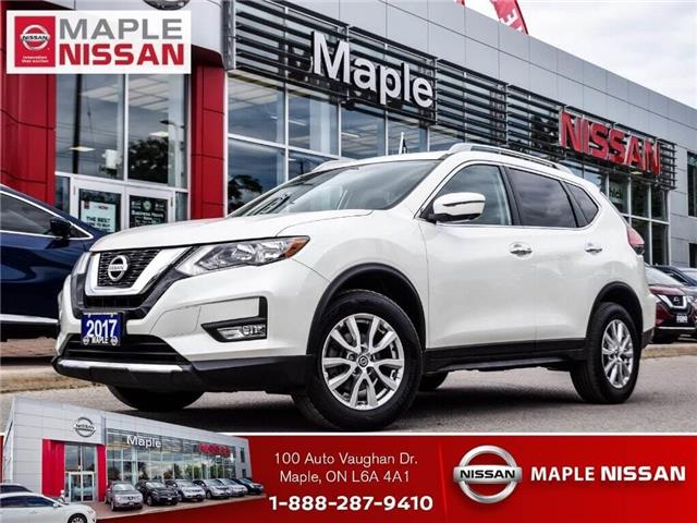 2017 Nissan Rogue SV AWD-Navi,Roof,Alloys,Low Mileage,1 owner! (Stk: LM376) in Maple - Image 1 of 1