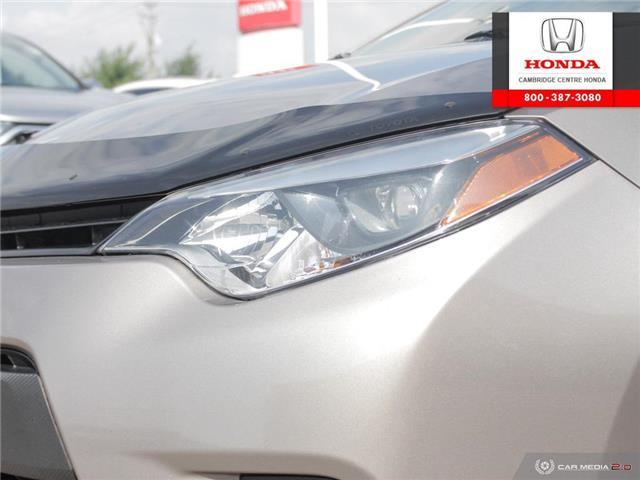 2014 Toyota Corolla LE ECO (Stk: 20134A) in Cambridge - Image 10 of 27