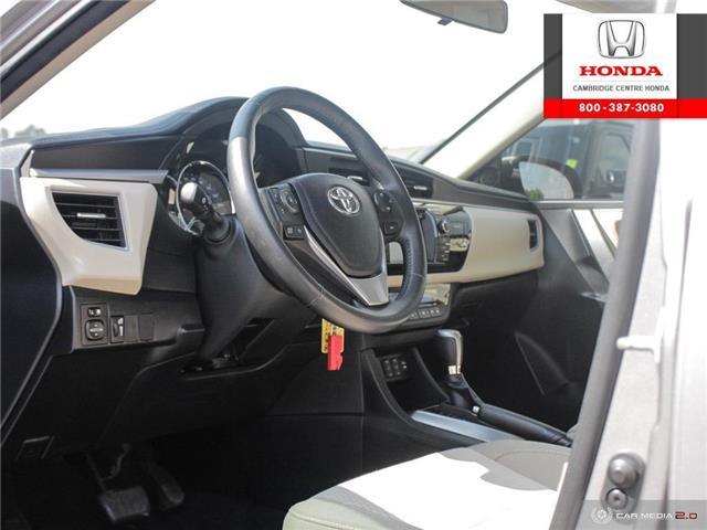 2014 Toyota Corolla LE ECO (Stk: 20134A) in Cambridge - Image 13 of 27
