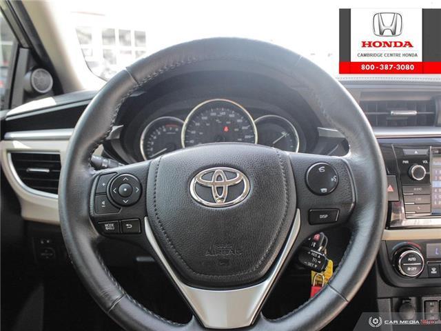 2014 Toyota Corolla LE ECO (Stk: 20134A) in Cambridge - Image 14 of 27