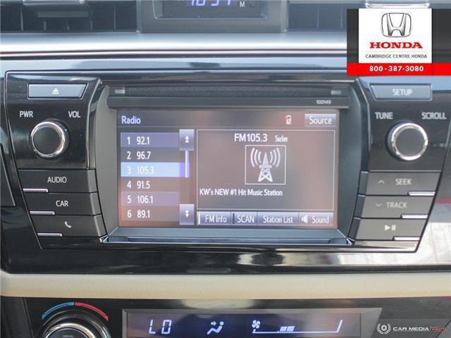 2014 Toyota Corolla LE ECO (Stk: 20134A) in Cambridge - Image 21 of 27