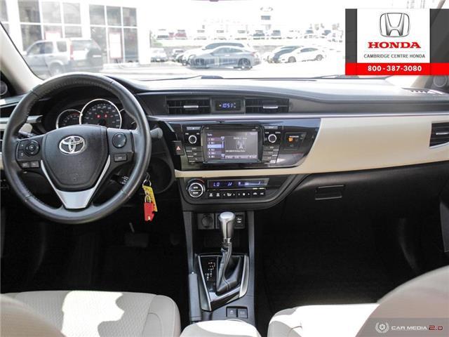 2014 Toyota Corolla LE ECO (Stk: 20134A) in Cambridge - Image 25 of 27