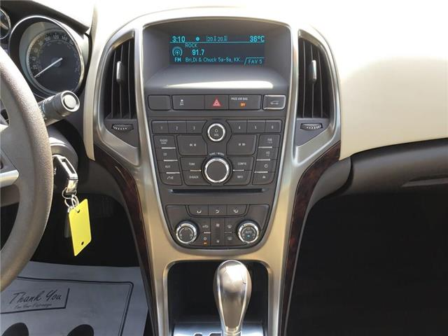 2015 Buick Verano Base (Stk: 155467) in Grimsby - Image 11 of 14