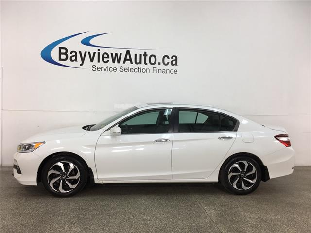 2017 Honda Accord EX-L (Stk: 35515W) in Belleville - Image 1 of 30